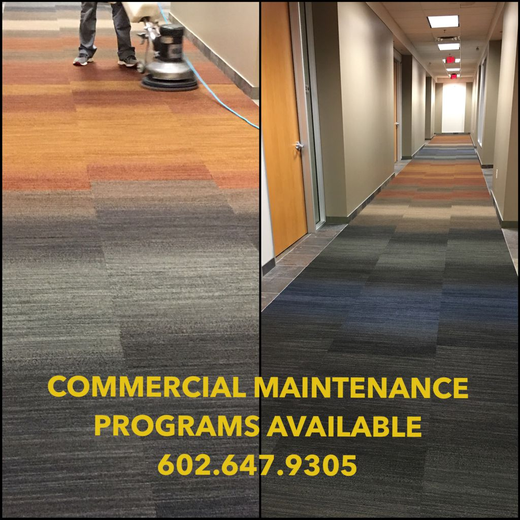 Commerical Carpet Maintenance Programs
